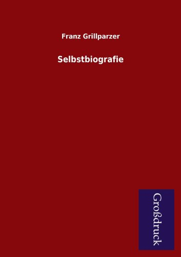 9783955843922: Selbstbiografie (German Edition)