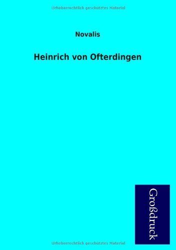 9783955845773: Heinrich Von Ofterdingen (German Edition)