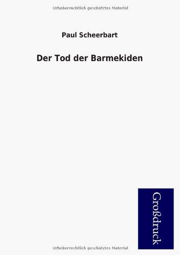 9783955845971: Der Tod Der Barmekiden