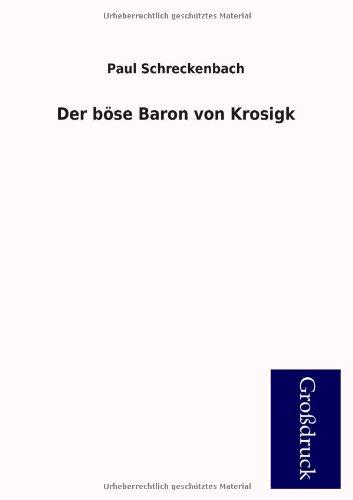9783955846060: Der böse Baron von Krosigk