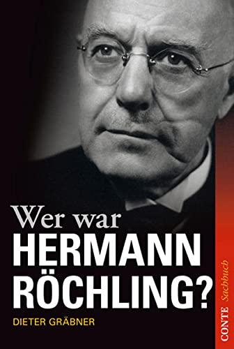 9783956020018: Wer war Hermann R�chling?