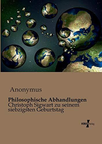 Philosophische Abhandlungen