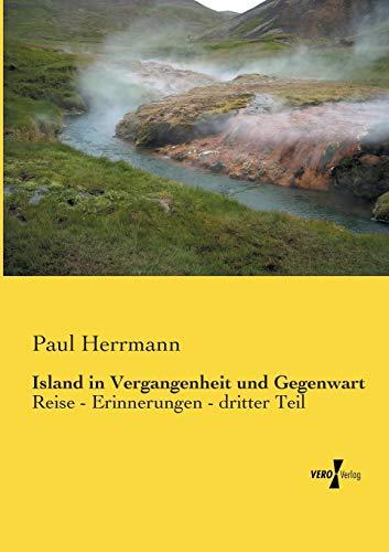 9783956105210: Island in Vergangenheit Und Gegenwart: 3