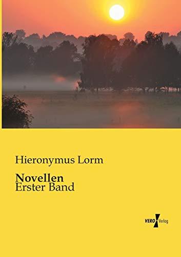 9783956109614: Novellen: Erster Band (German Edition)