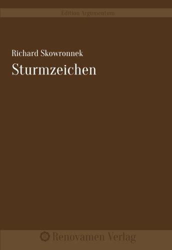 9783956210846: Sturmzeichen