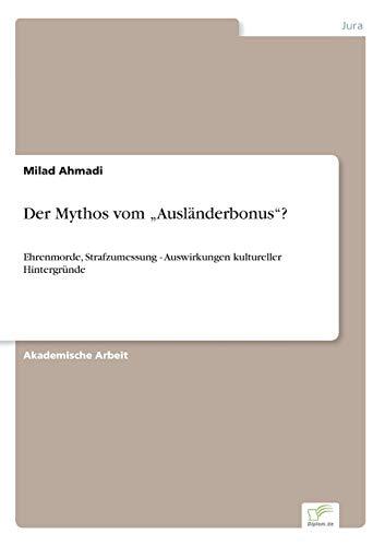 "9783956368165: Der Mythos vom ""Ausländerbonus""?"