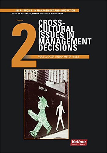 9783956510236: Crosscultural Issues in Management Decisions