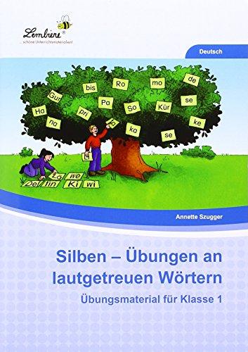 9783956646089: Silben - Übungen an lautgetreuen Wörtern (PR): Grundschule, Deutsch, Klasse 1