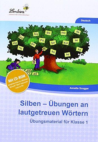 9783956646096: Silben - Übungen an lautgetreuen Wörtern: Grundschule, Deutsch, Klasse 1