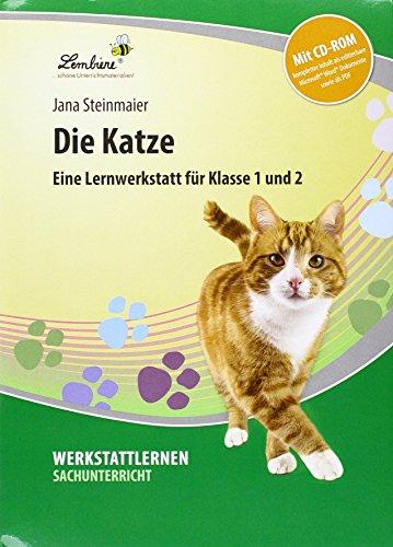 9783956646171: Die Katze. Grundschule, Sachunterricht, Klasse 1-2