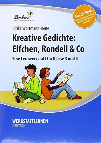 9783956646379: Kreative Gedichte: Elfchen, Rondell & Co: Grundschule, Deutsch, Klasse 3-4