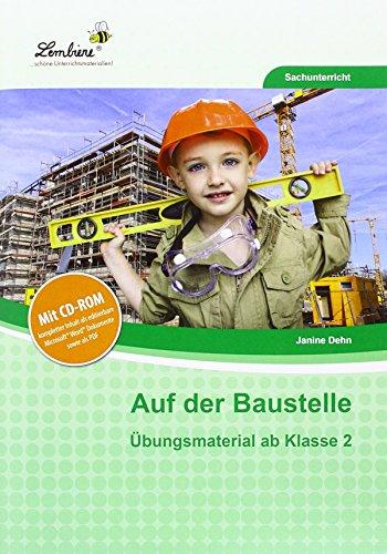9783956646553: Auf der Baustelle. Grundschule, Sachunterricht, Klasse 2-4