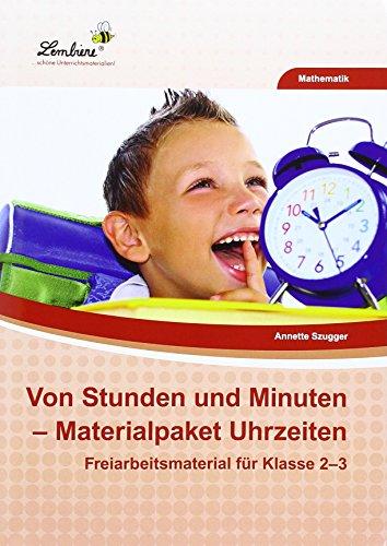 9783956648205: Von Stunden und Minuten - Materialpaket Uhrzeiten (PR): Grundschule, Mathematik, Klasse 2-3