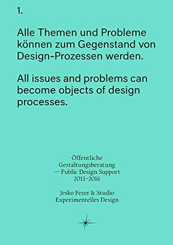 9783956791833: Offentliche Gestaltungsberatung - Public Design Support 2011-2016 (Sternberg Press)