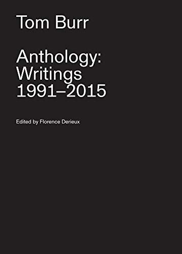 9783956791963: Tom Burr / Anthology: Writings, 1991-2015