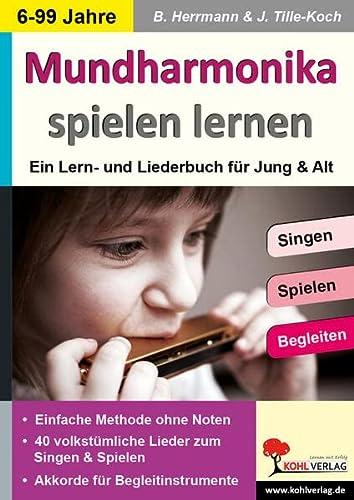 9783956865640: Mundharmonika spielen lernen