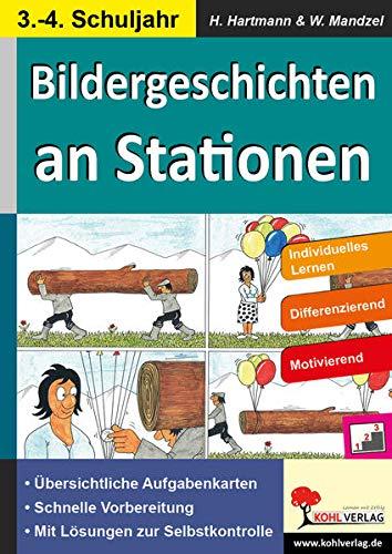 9783956867057: Bildergeschichten an Stationen