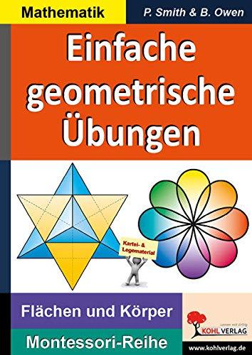 9783956867873: Einfache geometrische �bungen: Fl�chen und K�rper