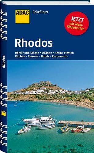 9783956892110: ADAC Reiseführer Rhodos: Dörfer und Städte - Strände - Antike Stätten - Kirchen - Museen - Hotels - Restaurants