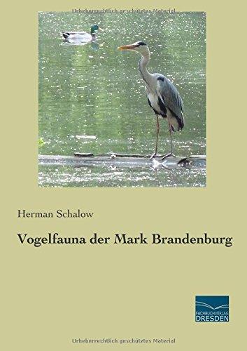 9783956926303: Vogelfauna der Mark Brandenburg