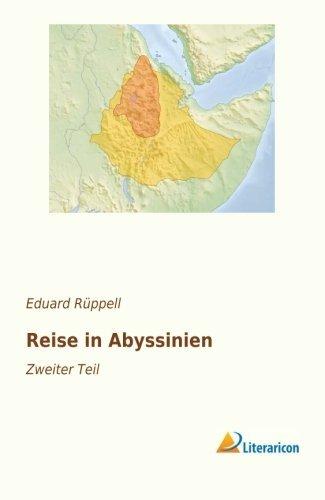 Reise in Abyssinien: Eduard Rüppell