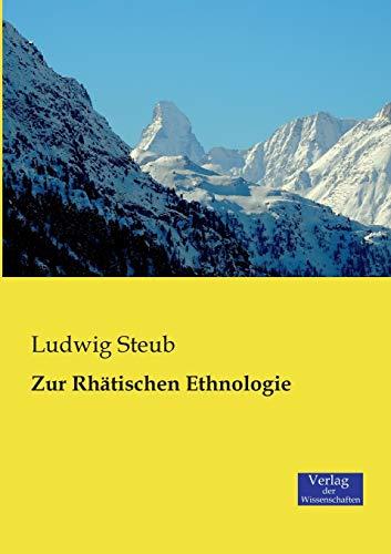 9783957002693: Zur Rhätischen Ethnologie