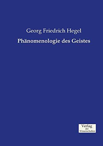 9783957003805: Phänomenologie des Geistes
