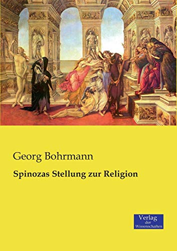 9783957005342: Spinozas Stellung Zur Religion