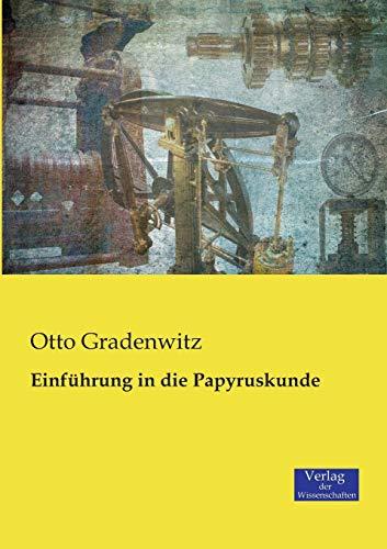 9783957006004: Einführung in die Papyruskunde (German Edition)