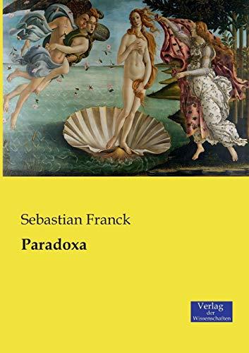 9783957006394: Paradoxa