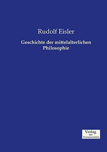 9783957006400: Geschichte der mittelalterlichen Philosophie