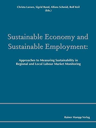 Sustainable Economy and Sustainable Employment: Christa Larsen