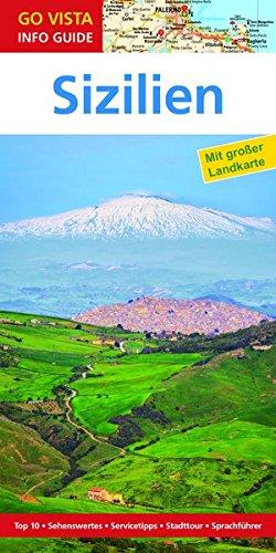 9783957332820: Regionenführer Sizilien: Reiseführer mit Faltkarte (Go Vista Info Guide)