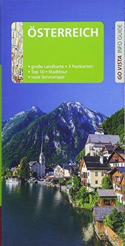 Go Vista City Guide Reiseführer Österreich, m. 1 Karte : Mit Faltkarte und 3 Postkarten - Rasso Knoller