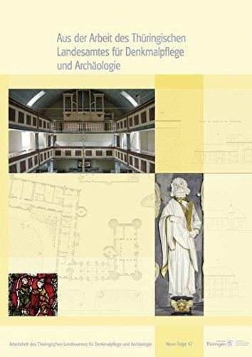 9783957550095: Aus der Arbeit des Thüringischen Landesamtes für Denkmalpflege und Archäologie - Jahrgangsband 2014
