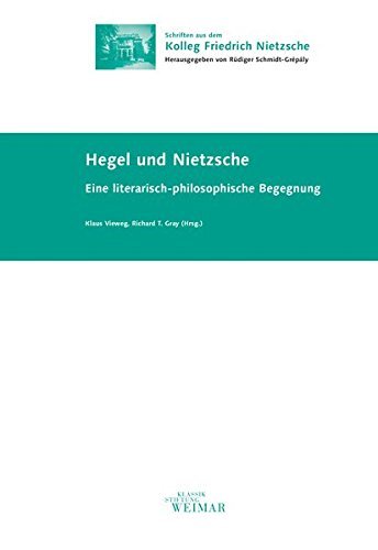 9783957730664: Hegel und Nietzsche