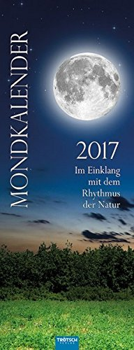 9783957743176: Mondkalender 2017: Maxi-Streifenkalender