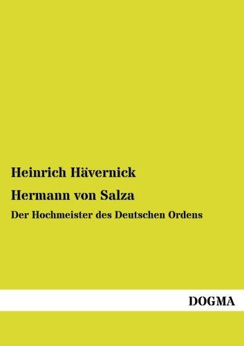 9783957820747: Hermann von Salza: Der Hochmeister des Deutschen Ordens (German Edition)