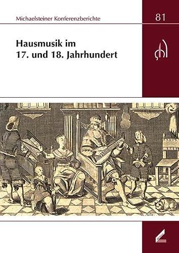 Hausmusik im 17. und 18. Jahrhundert: Ute Omonsky