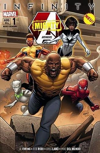 9783957980229: Mighty Avengers 01 - Infinity