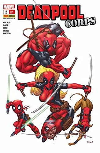 9783957981813: Deadpool. Bd. 2: Deadpool Corps 1