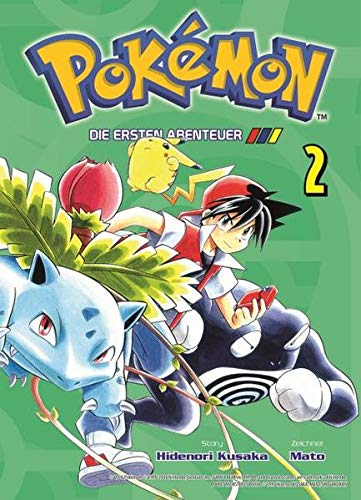Pokémon - Die ersten Abenteuer: Bd. 2: Hidenori Kusaka