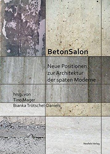 9783958081307 betonsalon neue positionen zur architektur for Beton salon