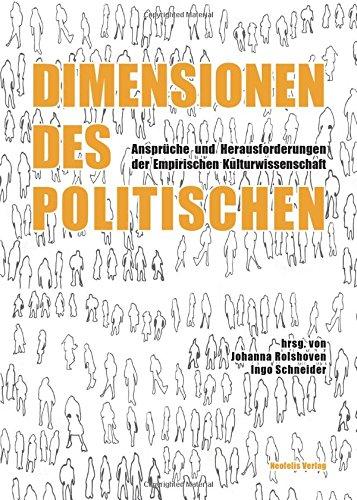 Dimensionen des Politischen: Anspruche und Herausforderungen der: Lee Hielscher, Ute