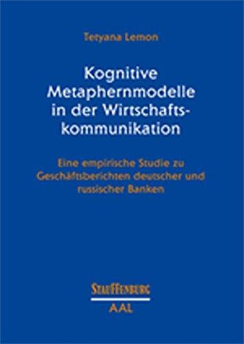 Kognitive Metaphernmodelle in der Wirtschaftskommunikation: Tetyana Lemon