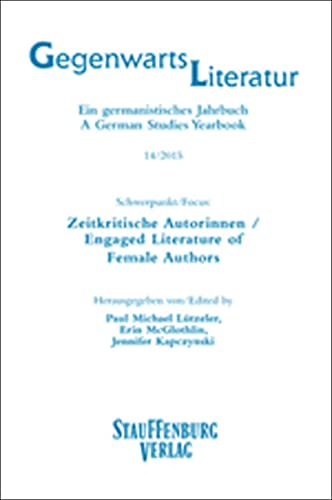 9783958096417: Zeitkritische Autorinnen / Engaged Literature of Female Authors