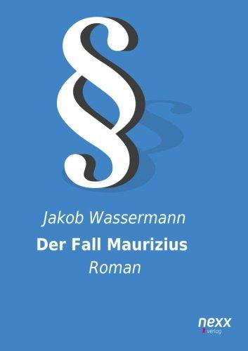 9783958702530: Der Fall Maurizius: Roman