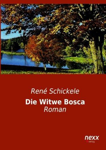 9783958702837: Die Witwe Bosca: Roman