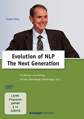 9783958910065: Evolution of NLP - The Next Generation: Live-Vortrag auf den Petersberger Trainertagen 2015 [Alemania] [DVD]