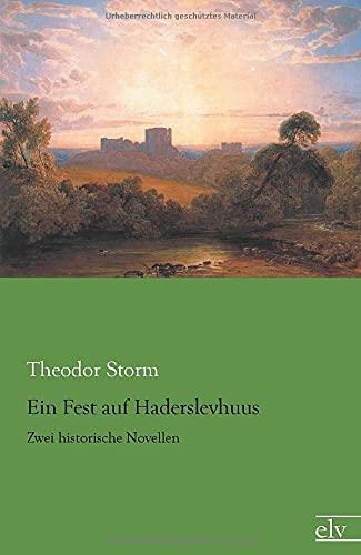 9783959090254: Ein Fest auf Haderslevhuus: Zwei historische Novellen
